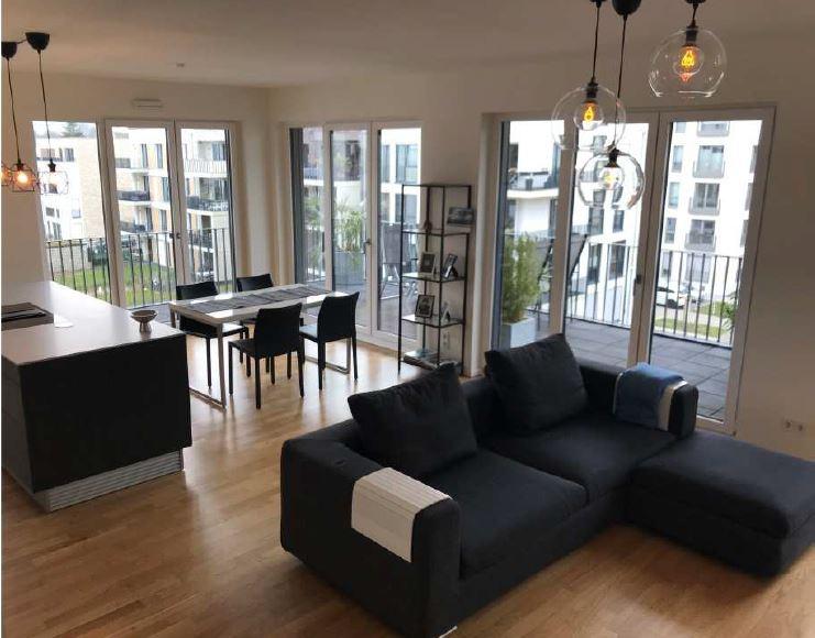 m blierte 4 zimmer luxuswohnung in grafental flingern nord. Black Bedroom Furniture Sets. Home Design Ideas