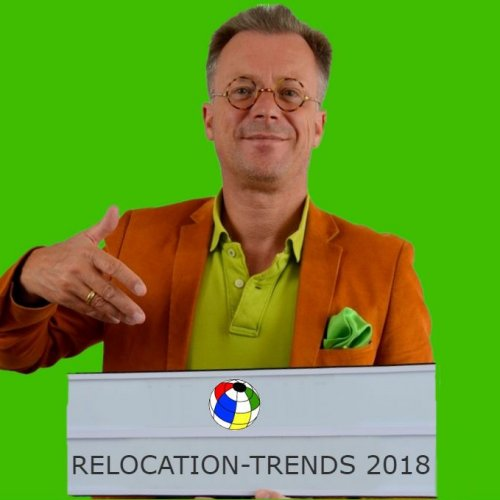 Christoph Anders von ANDERS CONSULTING Relocation Service präsentiert die globalen Relocation-Trends des Jahres 2018