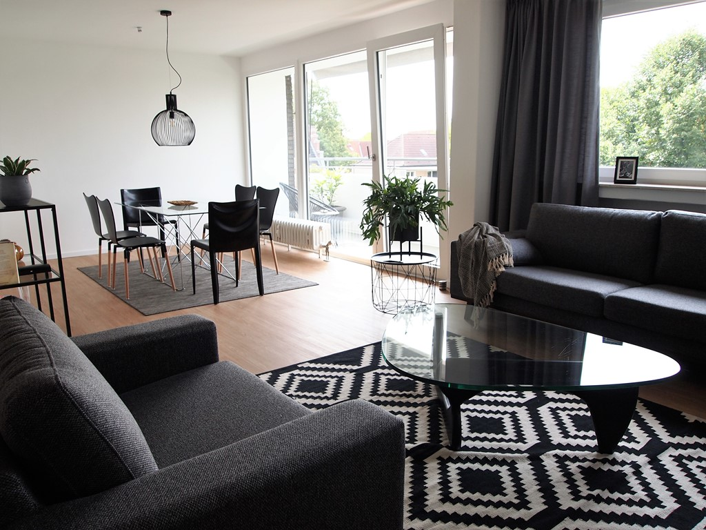 3 5 zimmer wohnung auf zeit f r expats zu mieten in 47053. Black Bedroom Furniture Sets. Home Design Ideas