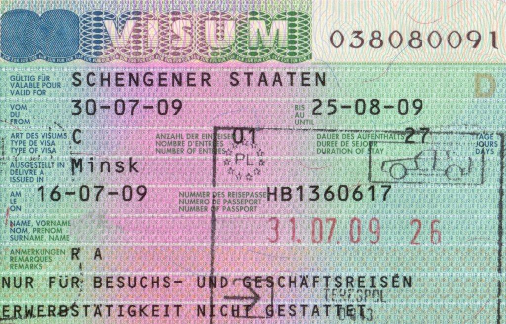 Deutschland visum schengen ⋆ Einreise