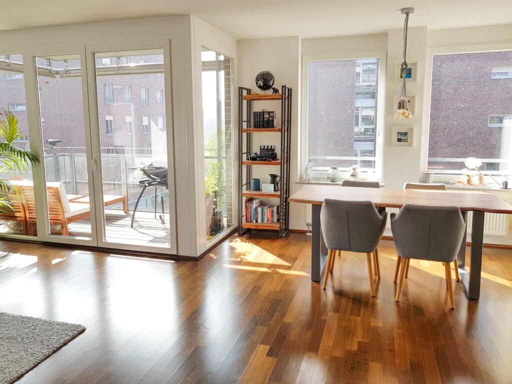 3-Zimmer-Wohnung auf Zeit für Expats zu mieten in 60314 Frankfurt (Ostend)