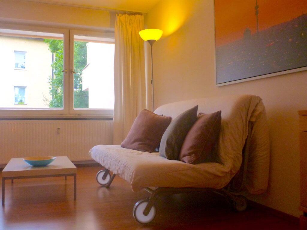 2-Zimmer-Mietwohnung für Expats zu mieten in 80339 München