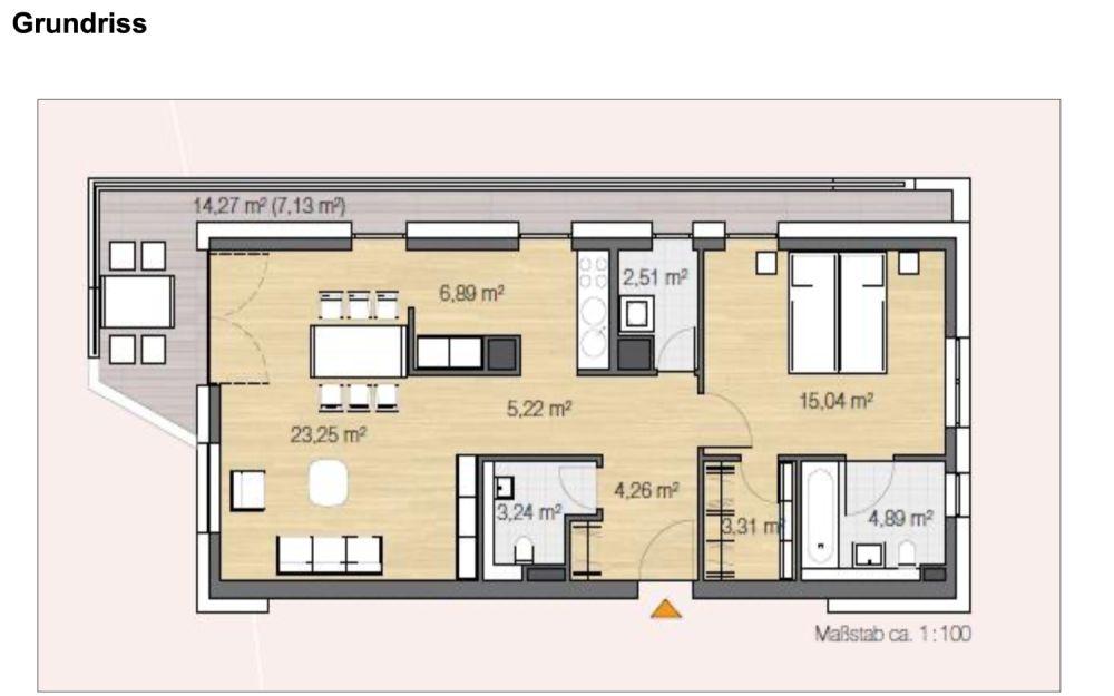 2-Zimmer-Wohnung auf Zeit für Expats zu mieten in 21109 Hamburg