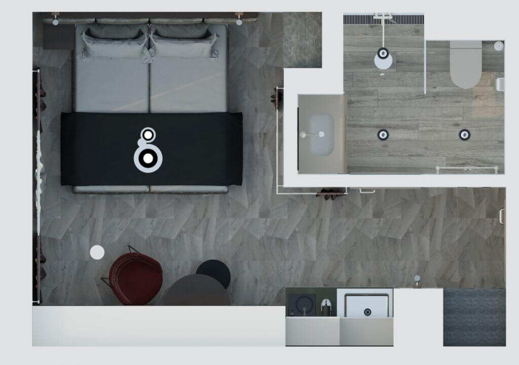 1-Zimmer-Wohnung auf Zeit für Expats zu mieten in 85609 Aschheim