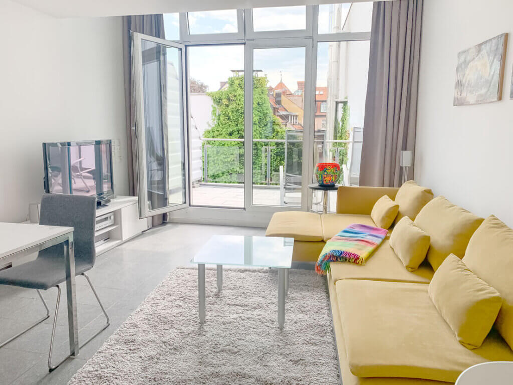 Maisonette-Wohnung in Bestlage Münchens bereitgestellt durch ANDERS CONSULTING RELOCATION SERVICE München - Ihr Partner für die professionelle Wohnungssuche