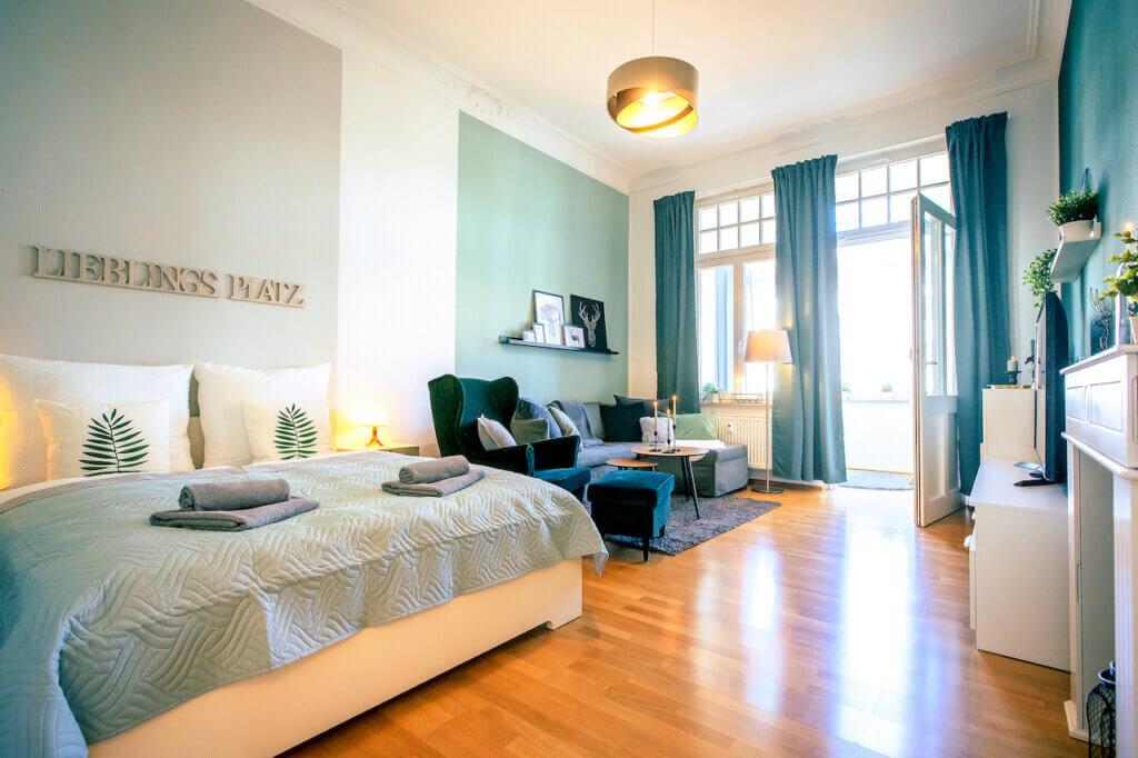 Eine Wohnung direkt auf der schönen Waldstraße in Leipzig gelegen bereitgestellt durch ANDERS RELOCATION CONSULTING Service Leipzig